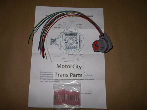 Transmission Wire Harness Pigtail Repair Kit