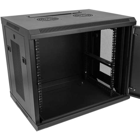 server rack cabinet    xxmm wallmount sohorack perforated cablematic
