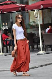 37 Maxi Dresses and Maxi Skirt 2013 Hot Fashion Trend Clothes Casual Outift for u2022 teens u2022 movies ...