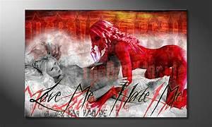 Erotische Bilder Für Schlafzimmer : das erotische wandbild devilish wandbilder xxl ~ Michelbontemps.com Haus und Dekorationen