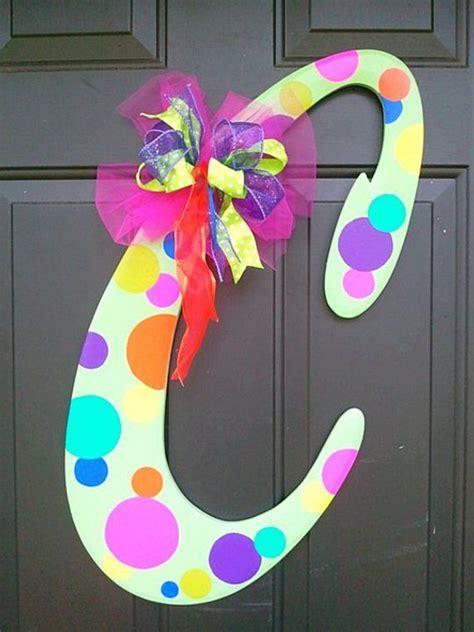 wooden letter  bubbles door hanger wooden letters wooden letters decorated
