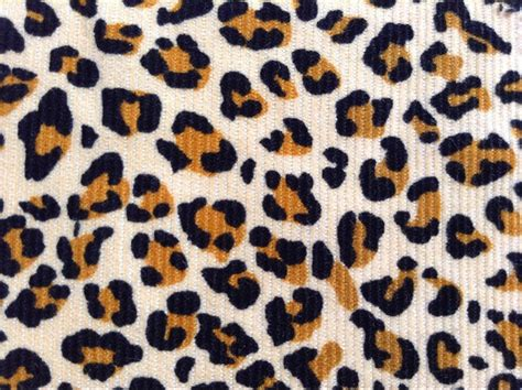 Jaguar Print Fabric by Free Shippig Fashion Print Corduroy Fabric Print