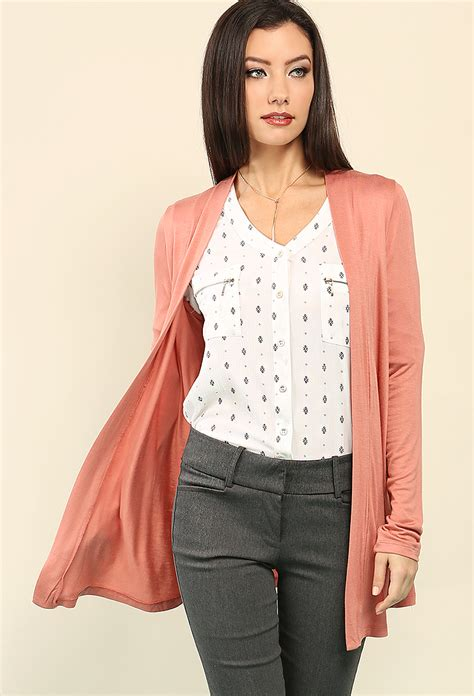 drape front cardigan draped open front cardigan shop sweaters cardigans at