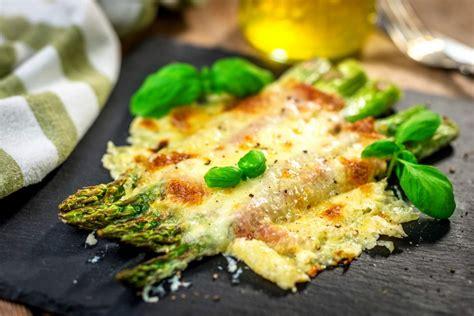 receta de esparragos gratinados al estilo casero
