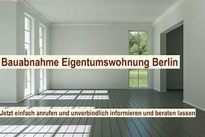Mängelanzeige Nach Abnahme : bauabnahme eigentumswohnung berlin abnahme ~ Frokenaadalensverden.com Haus und Dekorationen