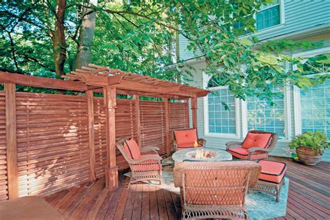 Backyard Privacy Screen by Design Ideas For Outdoor Privacy Walls Screens And