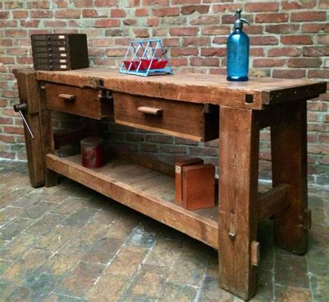 industrial workbench wood google search industrial