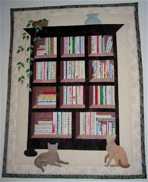 bookshelf quilt pattern selvage bookcase quilt from the netherlands is finished