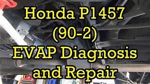 Honda Accord P1457 90 2 Evap Canister Vent Solenoid