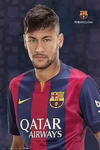朗 FC Barcelona Neymar Jr Póster, Lámina Compra en EuroPosters es