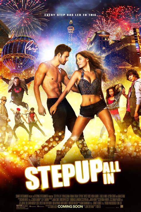 Step Up All In Interview Briana Evigan Talks Favorite