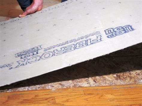 cement board thickness for floor tile gurus floor