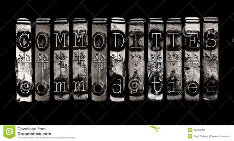 commodity type business commodities royalty free stock images image 35222219