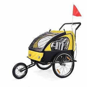 Fahrradanhänger 2 Kinder Testsieger : samax fahrradanh nger gelb schwarz black frame samax ~ Kayakingforconservation.com Haus und Dekorationen