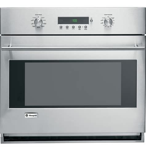 ge monogram  built  electronic convection single wall oven zetsmss ge appliances