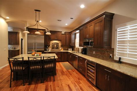 Dura Faucets by Remodeled Kitchens By Cook Remodeling Traditional