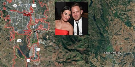 'glee' Lea Michele Gets Married In Wine Country Napa