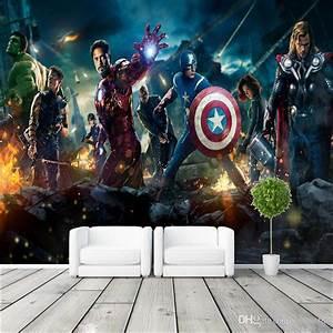 The Avengers Wall Mural Hulk Captain Americ Thor Photo ...