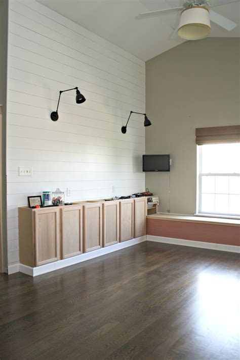 How to add the shiplap look to your home (for a lot less