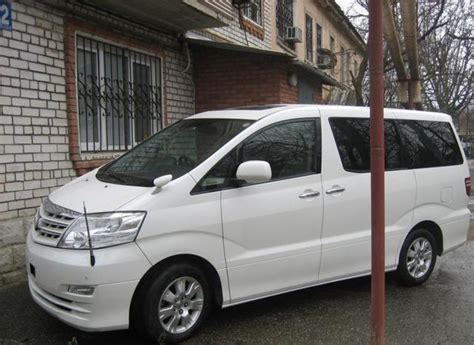 Toyota Alphard Wallpapers by 2005 Toyota Alphard Wallpapers