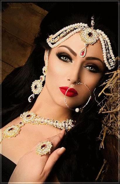 Indian Femme Makeup Gifs Bridal Bride Femmes