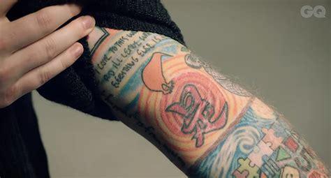ed sheerans  tattoos