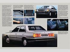 1989 Hyundai Stellar brochure