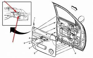 2007 Chevy Silverado Driver Door Schematic