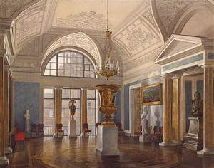 File:Hau. Interiors of the Winter Palace. The Apollo Hall ...