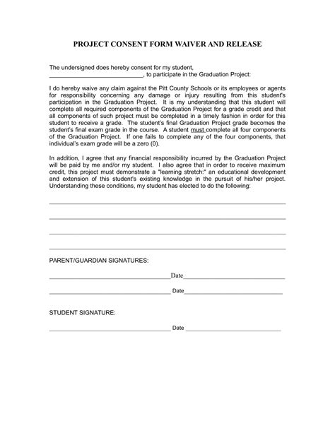 child support waiver form 5 child consent forms project consent travel consent