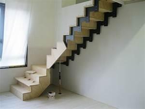 Fabriquer Son Escalier : l escalier en kit construire soi m me mamzelle conseil ~ Premium-room.com Idées de Décoration