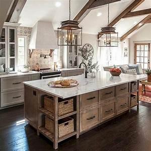 45, Cool, Farmhouse, Kitchen, Color, Design, Ideas