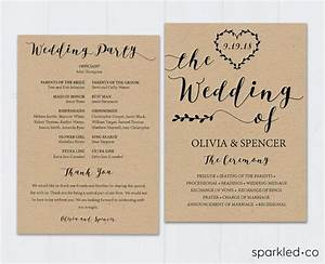 1000 ideas about wedding program templates on pinterest With wedding invitation design course