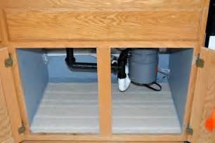 Replace Bottom of Cabinet Under Kitchen Sink