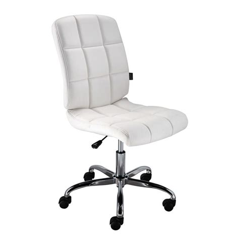 staples weston designer task chair no arms white staples 174