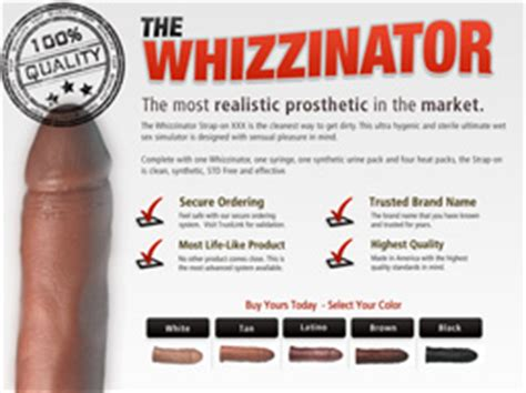 The Whizzinator Fake Penises For Sale Can Actually Work