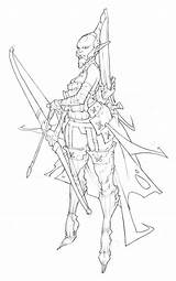 Character Concept Visit Fantasy Drawing sketch template