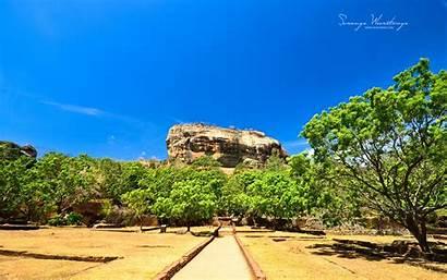 Sri Lanka Rock Huge Sigiriya Win8 Palace