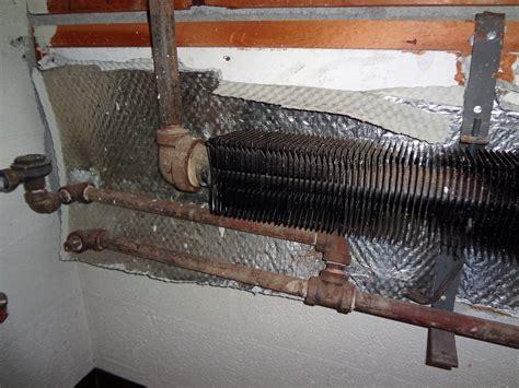 aluminum foil asbestos paper radiator heat shield