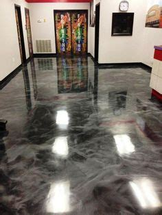 Epoxy to polyaspartic concrete coating. Turn your plain