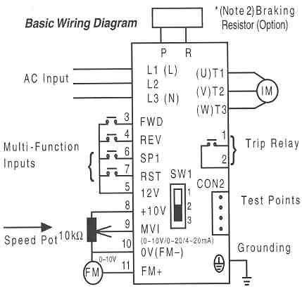 Basic Electrical Wiring Adapter Circuit Diagram