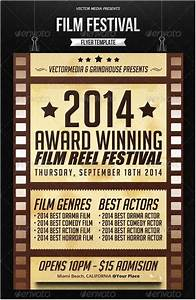 17, Best, Film, Festival, Flyer, Poster, Templates, And