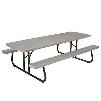 Lifetime® 8 Ft Folding Picnic Table. Computer Desk For Two People. Construction Table. Wall Hanging Desk Organizer. Make A Stand Up Desk. Skinny Console Table. Large Round Table. Amazon Desk Chairs. Desk Ideas Pinterest