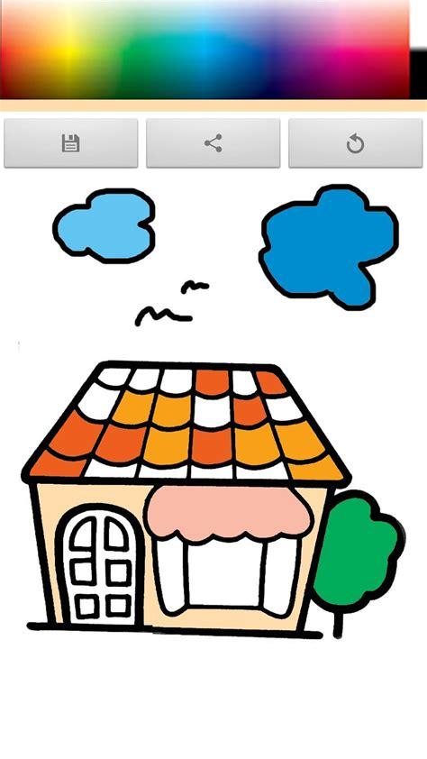 เกมส์ระบายสี บ้านแสนสุข pour Android - Téléchargez l'APK