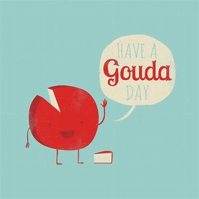 Gouda Puns Cheese Cheesy Clipart Jokes Humor