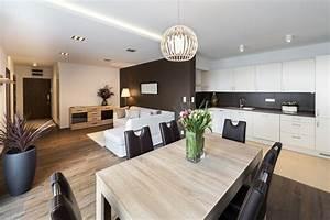 Apartment Einrichten Ideen : wohnk che einrichten die besten tipps wohnungs ~ Markanthonyermac.com Haus und Dekorationen