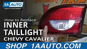 How To Replace Inner Taillight 00-02 Chevy Cavalier