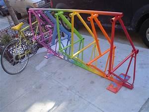 Homemade Bike Parking Rack PDF Woodworking