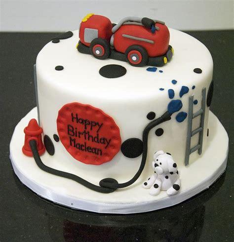 fire truck birthday cake  wwwfortheloveofcakeca