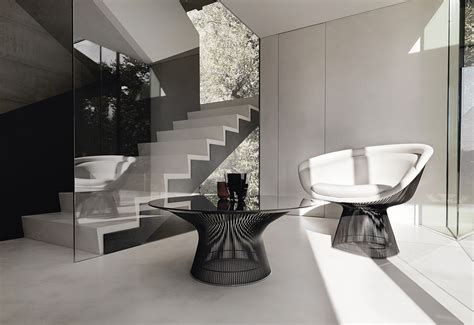 platner coffee table designed  warren platner